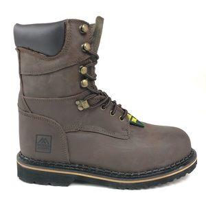 McRae Mens Ruff Rider Industrial Steel Toe Boots